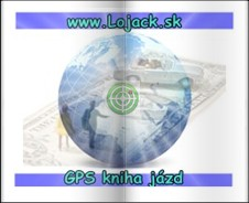 GPS kniha jázd
